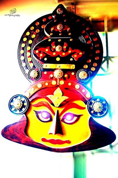 keralas tradetional art form kathakali head
