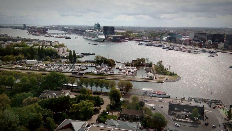 Cityscape Travel Destinations Amsterdam Netherlands A'dam Toren Amsterdam Skyline Cloudy The Architect - 2016 EyeEm Awards