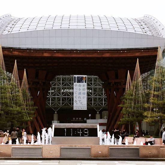 Kanazawa Kanazawastation Hokurikushinkansen Japan OpenEdit Japon