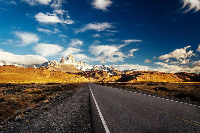 Leaving el chalten EyeEmNewHere EyeEm Selects No People Sky Argentina, Mountain Patagonia El Chalten