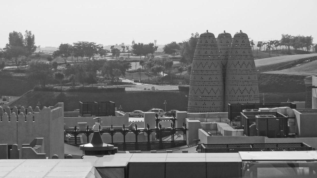 Katara Village #amphitheater #Katara Village #the Pearl #West Bay #the Pearl Beach Photography Beachlife Blackandwhite Blackandwhite Photography Blue Sky And Clouds In Doha Qatar Katara Beach Katara Village Pearl Harbor