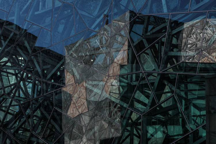 Melbourne City Modern Architecture Architecture Art And Craft Broken Built Structure Federation Square Glass Glass - Material Industry Metal Mordern Pattern Reflections Transparent The Architect - 2019 EyeEm Awards
