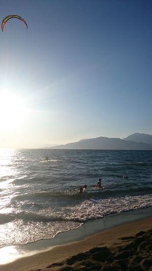 Sea Outdoors Sky Sunlight Scenics Day Water Nature Beauty In Nature No People Beach Greece Komos Beach Crete