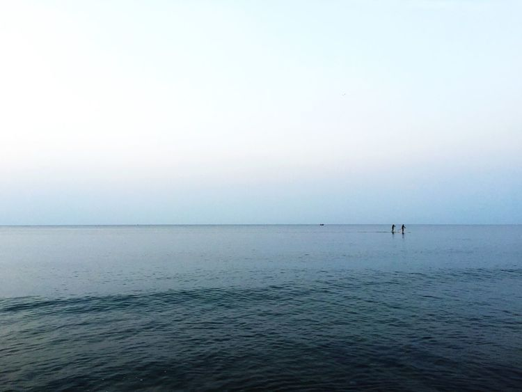 Smart Simplicity Calm Seaside Paddlesurf Sea Minimalism Minimalobsession Mar Smart Simply Catalunya