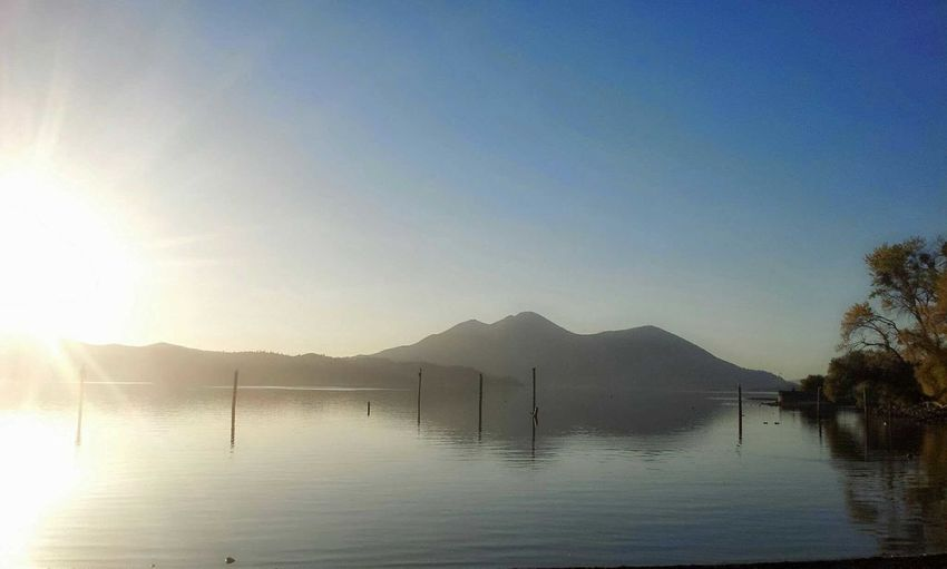 . Phonography  Lake Clearlake, Ca. Mt.konocti Sunset Environment Serene Water Outdoors Mountain Tranquility Landscape Scenics Sky