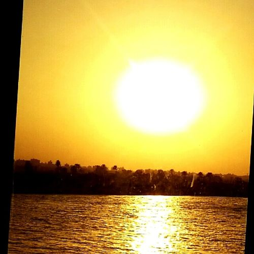 Nature Nile River Sunset