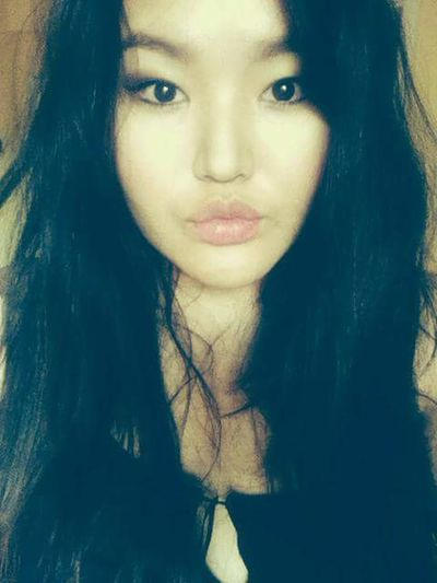 Lip Asian Girl At Home Funny Faces