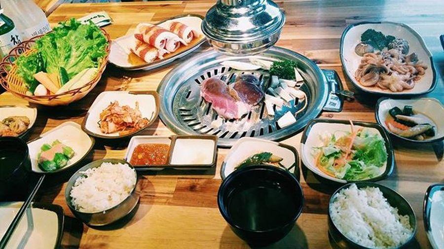 VSCO Vscovietnam Vscocam Happywomenday Gogi Gogihouse Meat Octopus For Specialdag Foodporn Koreanfood Yummy Tasty