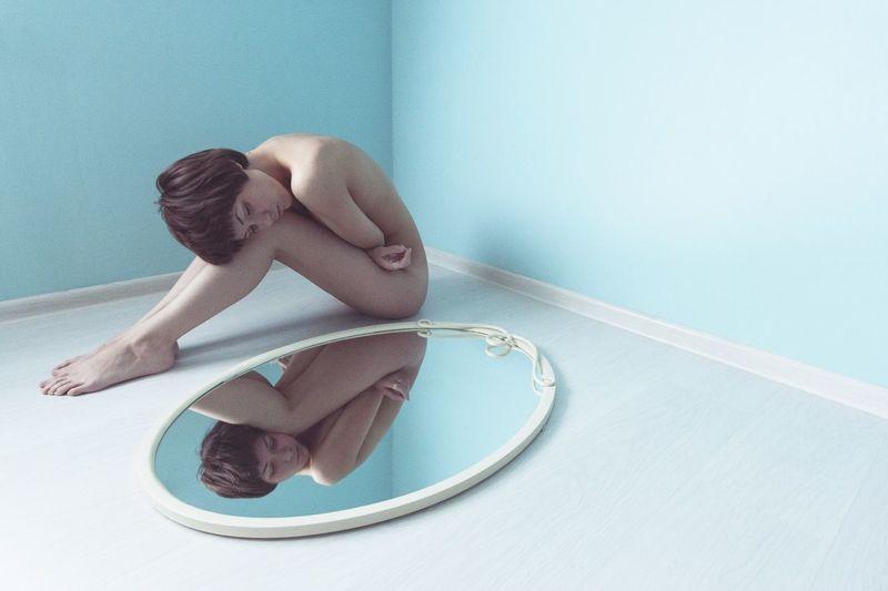 Pastel Power Pastel Relaxing Sleep Sleepy Nude Art Blue EyeEm Ready