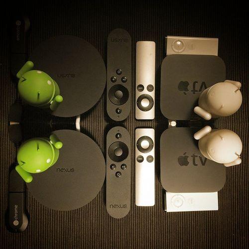 ウワサ?の NexusPlayer を使ってみたら、ワタシの生活的には Appletv はもう必要ないな~ Chromecast はもっと不要だけど(^^ゞ Androidtv