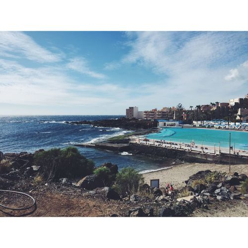 Showcase: February Tenerife View Happiness Holiday Travel Postcardview WOW Sea