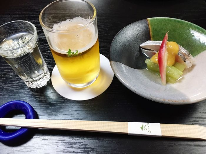 酒&ハモ&ビール Sake