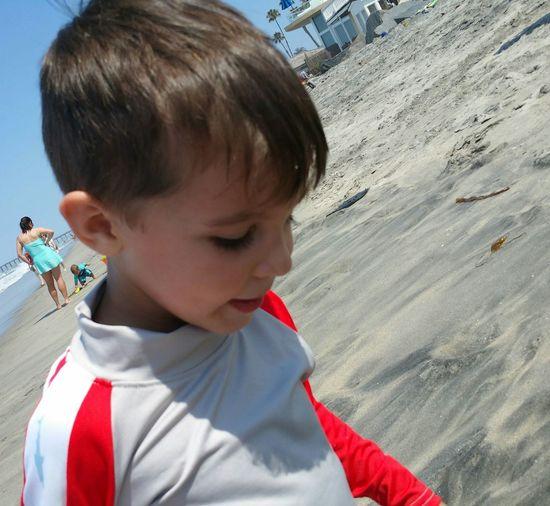Faces Of Summer Beach Life Is A Beach Family Southern California California Oceanside EyeEm Best Shots Little Cousin Little Boy