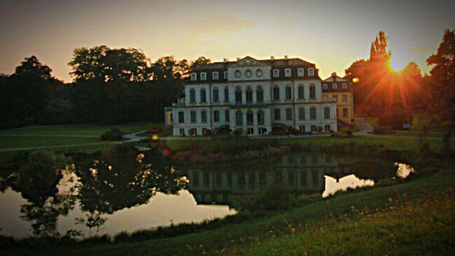 Schloss Wilhelmstal Sunrise Sonnenuntergang Landscape