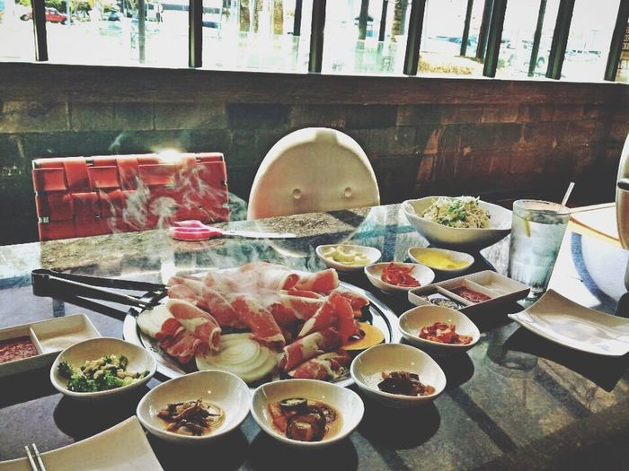 Food And Drink Korean Food No People Serving Size Table Freshness Indoors  Healthy Eating Illuminated Santa Maria Ca ,