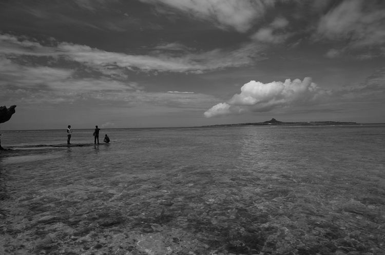 Nikon D610 Original EyeEm Best Shots Bw_collection Blackandwhite Monochrome Light And Shadow Sky Sea Cloud Okinawa 美ら海