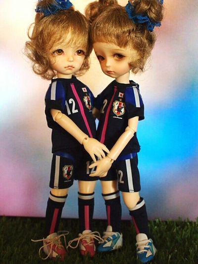 Doll Dolls Bjd なでしこジャパン サッカー女子 W杯 Imdadoll