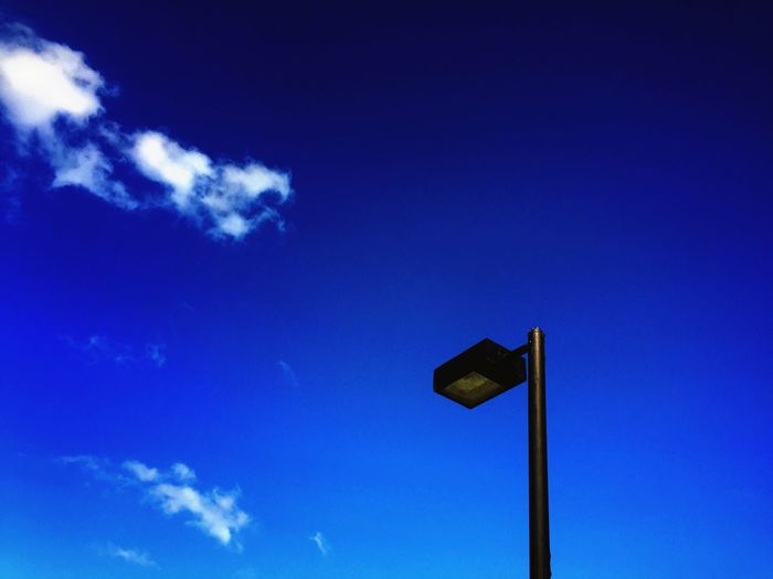 Cobalt Blue By Motorola Smart Simplicity Negative Space Rule Of Thirds Blue Sky Blue Eye4photography  Taking Photos EyeEm Best Shots Lookingup