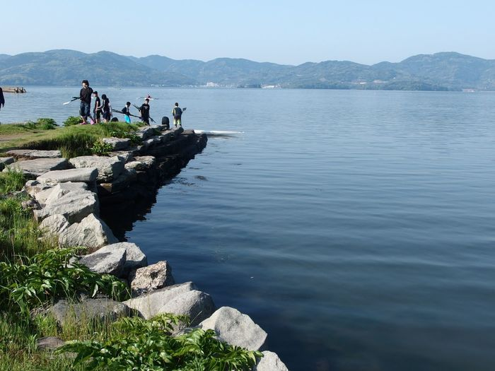 Omur Outdoors Nature Leisure Activity Water Landscape Sea KYUSHU Beauty In Nature Rural Scene