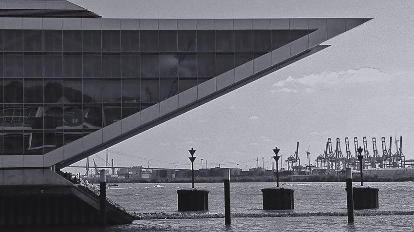 Dockland Hamburg Hamburg Harbour Dockland Hamburg Blackandwhite IPhoneography Monochrome Architecture EyeEm Best Shots - Black + White Jopesfotos - Buildings Jopesfotos - Bestefotos