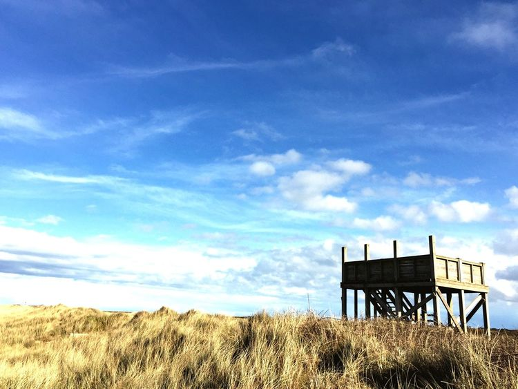 Watchtower Sky Skyporn Dunes Beach Beachphotography Blue Wave The Great Outdoors - 2016 EyeEm Awards