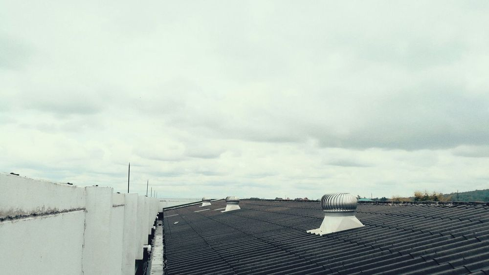 About 1 years ago that I shot this photo. That time every things make me interested.I will never forget that feeling. Cloud - Sky Rooftops Alone Time Alone