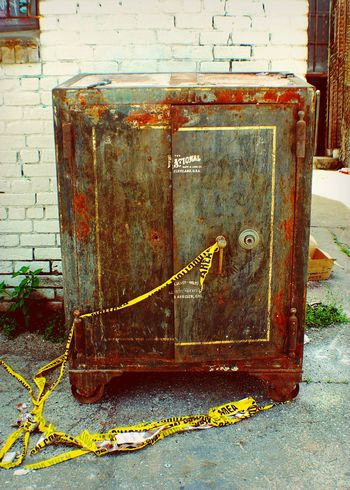 Vault Safe Bank Bank Safe Bank Vault 1920s Alleyway Heavy Equipment Money