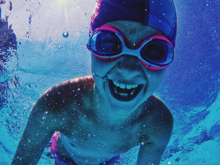 Ischia Water Fun Swimming Portrait Underwater Swimming Pool Close-up UnderSea Action Cam Action Camera Subwater EyeEmNewHere Capture Tomorrow Childhood Lifestyles Nature Innocence One Person Swimming Goggles