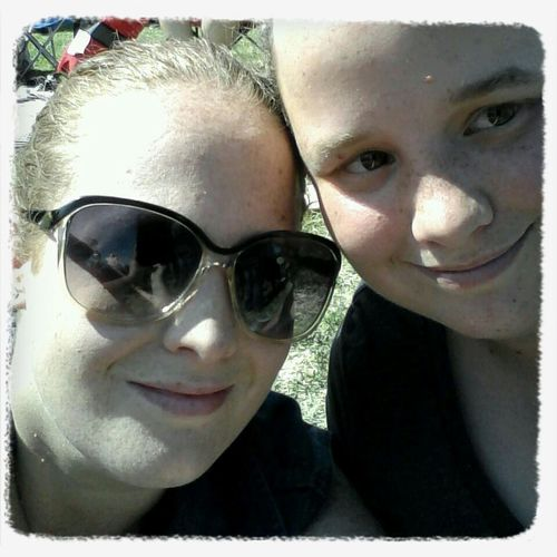 Concert with my sister at Jugfest 2014