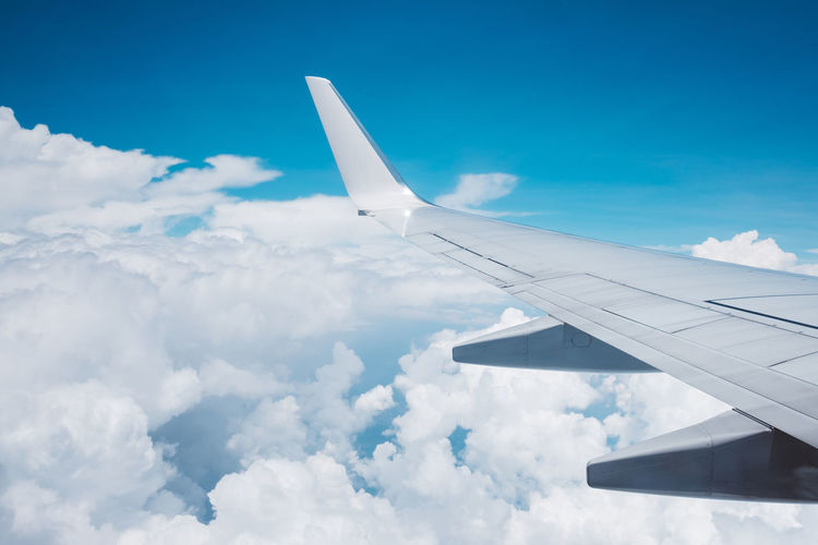 Sky Skyporn Plane Clouds Clouds And Sky