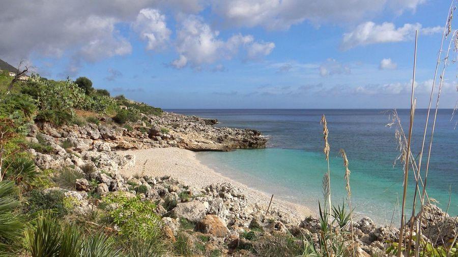 Sicilia EyeEm Selects Italy Marine Water Sea Beach Sand Tree Summer Blue Sky Horizon Over Water Landscape Coastline Seascape Ocean Calm Coast Bay Of Water