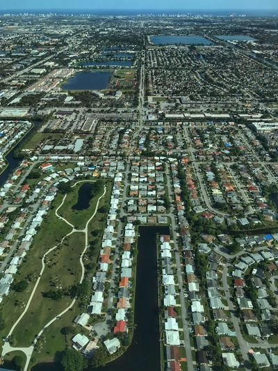 Fort Lauderdale Broward County Aerial Photo Low Oblique Lauderdale Lakes Florida Ft Lauderdale Aerial Shot Aerial View Aerial Photography Aerial View Architecture Building Exterior Built Structure High Angle View City Day Cityscape Outdoors No People