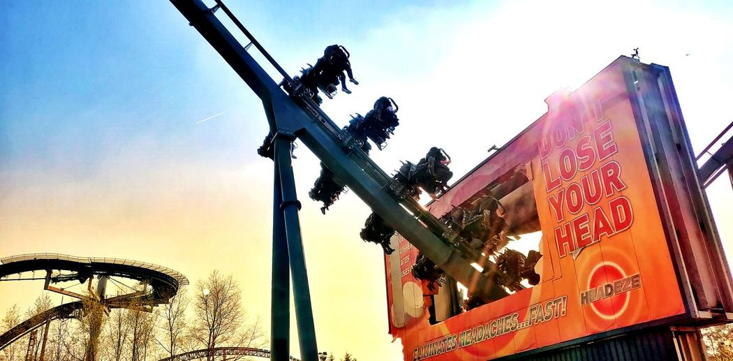 Swarm Photowalktheworld Rollercoaster Roller Coaster Mobilephotography Color Pop Street Art Amusement Park Amusement Park Ride Thorpe Park City Sky Ride Fairground Ride Signboard