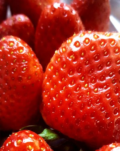 Food Freshness Strawberry Fruit Healthy Eating Food And Drink Red Close-up No People Juicy Backgrounds Textured  Indoors  Day Morangos