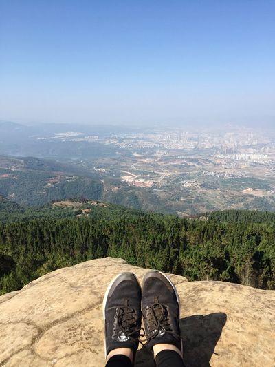 Nike Shoes Mountain Top