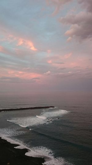 Sea Water Beauty In Nature Nature Scenics Horizon Over Water An Eye For Travel Sunset Beach