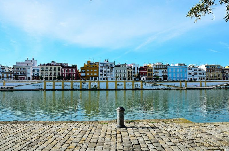 Seville - Triana Seville Sevilla Triana Guadalquivir City Building Exterior Architecture No People City