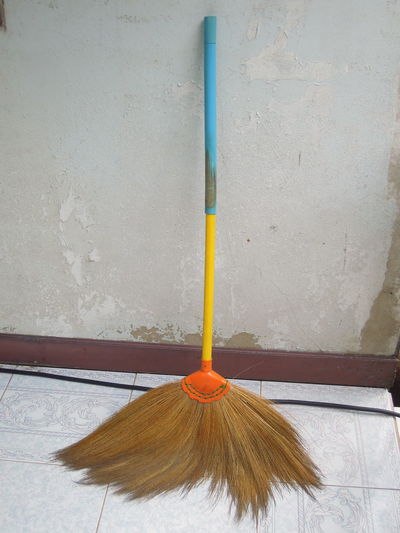 swab in my home Bangkok Besom Broom Cleaning Cleaning Equipment Equipment Home House Swab Sweeping Thai Thailand