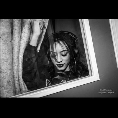 Rockin in the booth... Fightlikeagirl Redflag Missoddbeauty D &BStudio O&OPhotography Bangaville 21STBDAY MARCH1ST 1