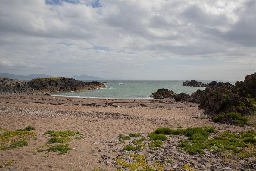 Anglesey Beach Britain Coast Coastal Coastline Coastline Landscape Dwynwen Gwynedd Island Llanddwyn Island Ruins Sea Summer Tidal Volcanic Landscape Wales