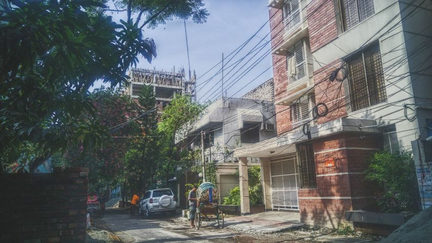 Architecture Building Exterior Built Structure Tree Outdoors Day Growth City Sky Dhaka On Eyeem