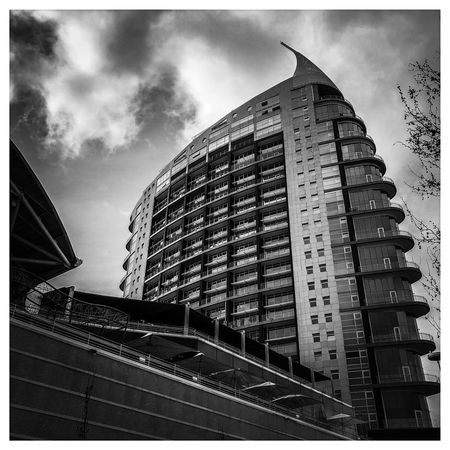 Building Exterior Architecture Built Structure Sky Cloud - Sky Low Angle View Building City Auto Post Production Filter Transfer Print Nature Modern No People Day Office Building Exterior Outdoors Office Tall - High Skyscraper Apartment