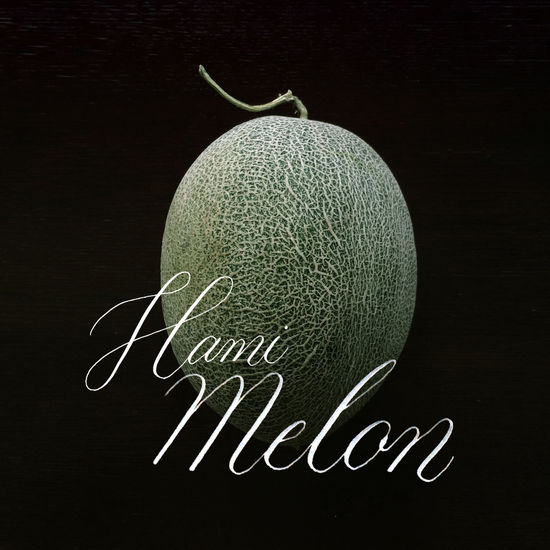 Calligraphy Hamimelon Design Food And Drink Fruit Handwriting  Healthy Eating Melon No People
