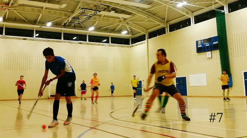 First night back at indoor hockey. Survived minus any bruising....that I know of. Indoor Hockey Friends Hockey Fitness 365project Day 7
