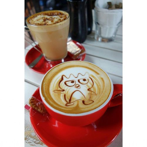 Greetings from Badtz-Maru on a cup of delicious frothy hazelnut latte! Coffee Latte Latteart Chockfullofbeans delicious brunch foodplease eatout foodporn fatdieme makanhunt food instagood instafood instafoodies foodie fotd foodgram foodinc sgfood sgigfoodies singaporefood foodforfoodies foodstagram lifeisdeliciousinsingapore happytummy foodphotography foodpics openricesg FoodReviewsAsia