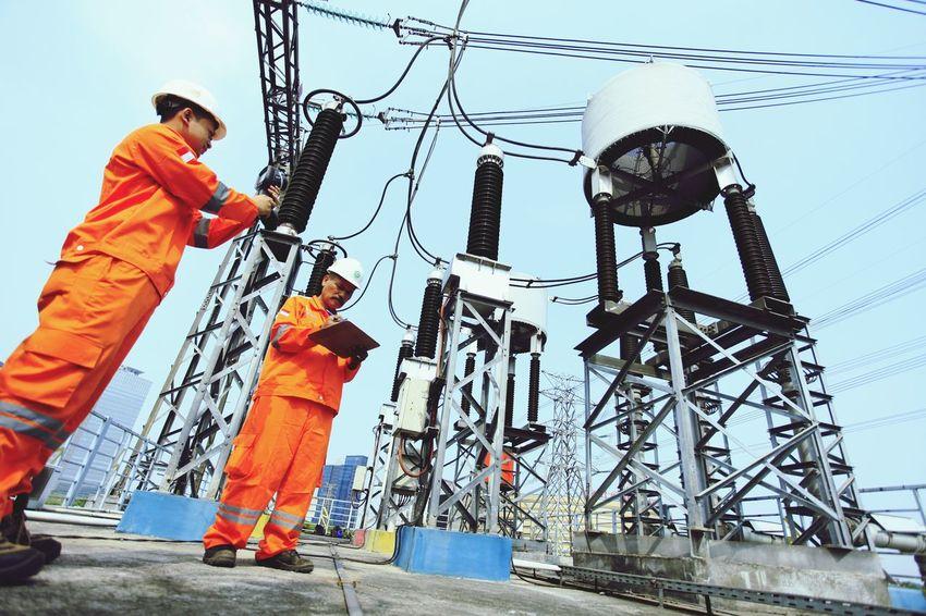 PLN elektrikcity gardu alam sutera serpong Indonesia