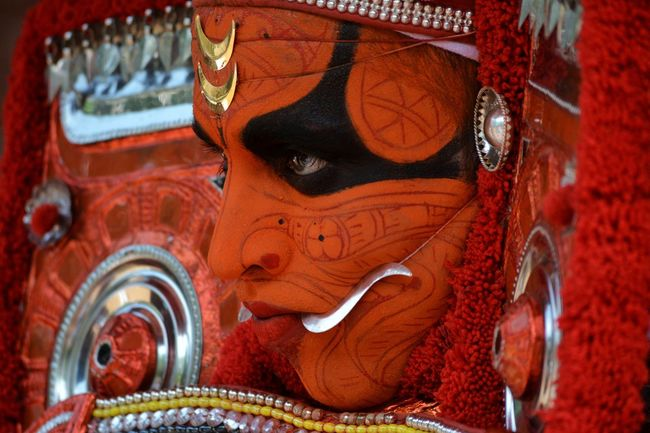 Theyyam Theyyams Of Kannur Kerala Kerala India Kerala The Gods Own Country ;) Keralatourism Kerala Gods Own Country Kerala_tourism Kannurphotos Indiatourism Culture And Tradition Keralaattraction Keralaspecial Art Dance Art And Craft Ornate Statue No People Red Sculpture Day Close-up Indoors