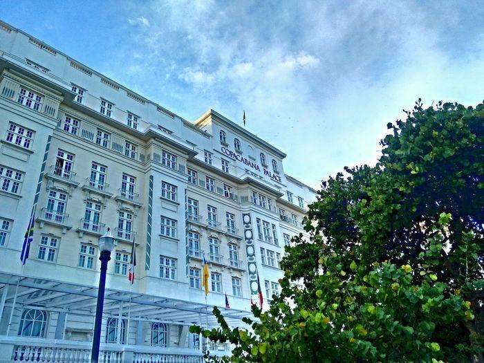 Copacabana Palace Rio De Janeiro Sky