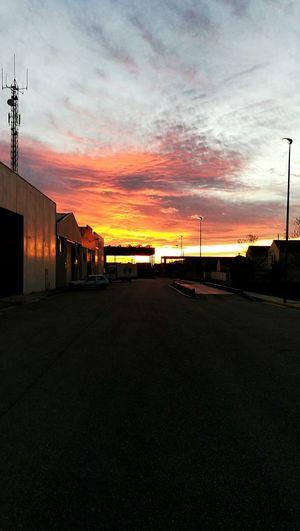 Sunset Outdoors No People Cloud - Sky Dying Light Firing Sky