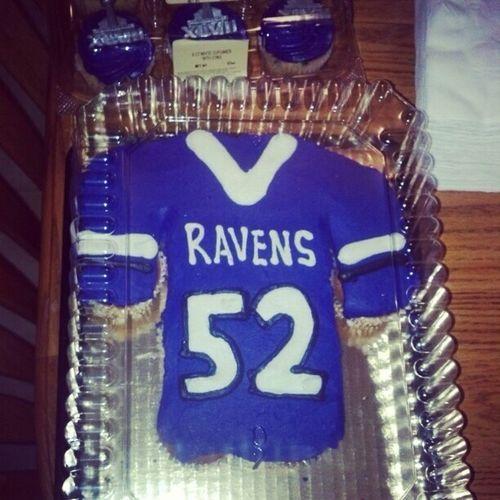Look what my mommy got me #Superbowl #RAVENS #Cookies